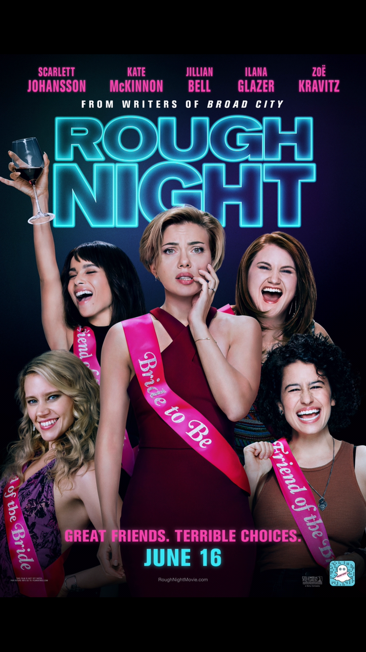 Join Me For a Screening of 'Rough Night' Starring Scarlett Johansson