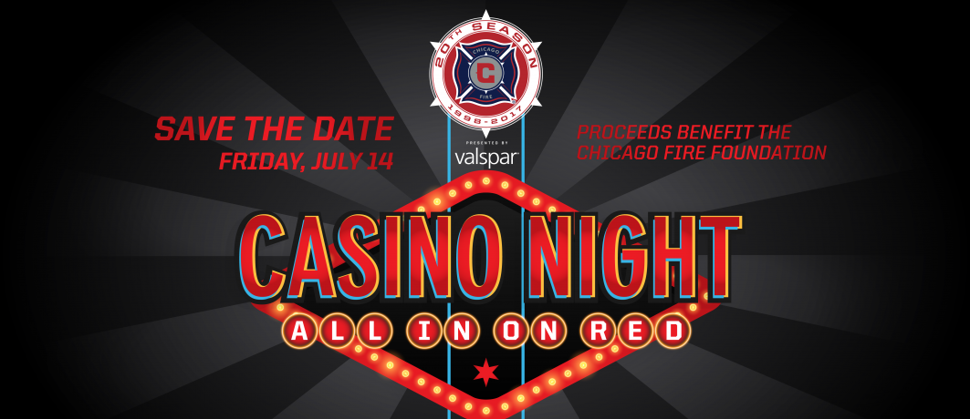 Chicago Fire Host Casino Night-Themed Gala to Benefit the Chicago Fire Foundation