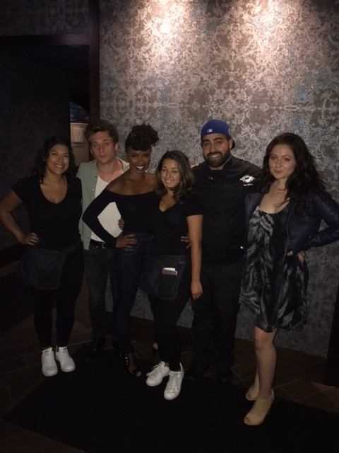 "Cast of ""Shameless"" at Barrio in Chicago"