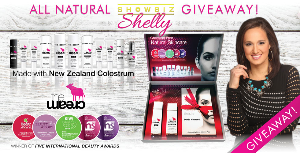 ShowBizShelly theCream GIVEAWAY!