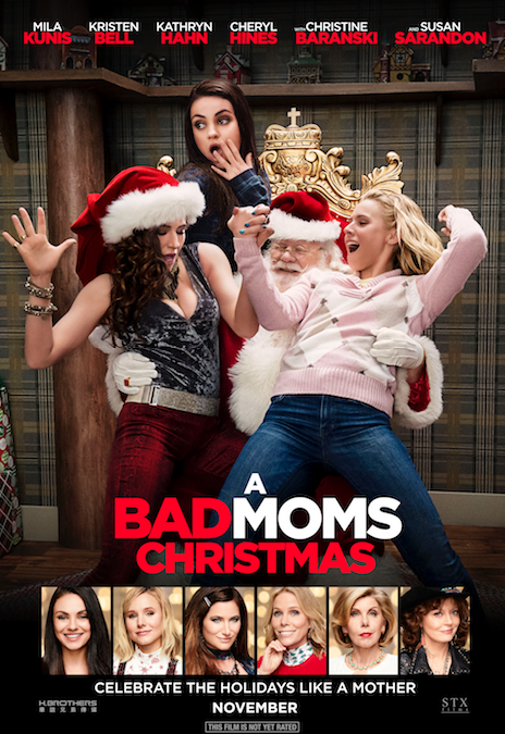 Enjoy a Ladies Night With a Special Advanced Screening of BAD MOMS CHRISTMAS
