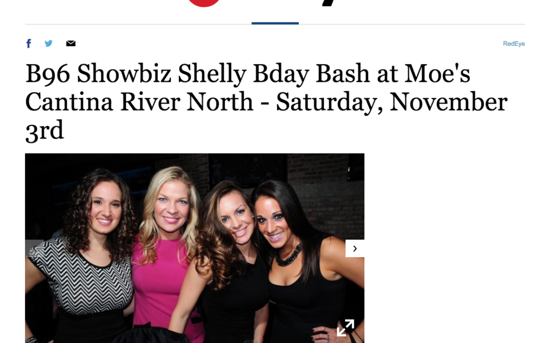 Shelly's Birthday Covered By RedEye