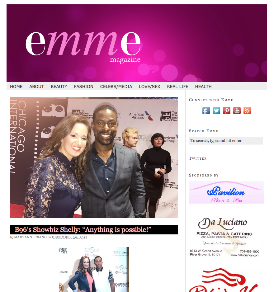 Emme Magazine Mention