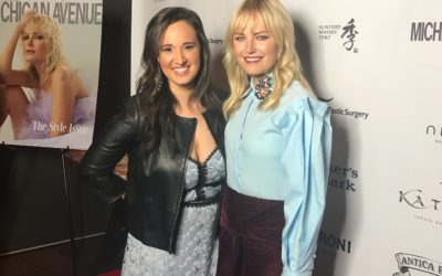 Malin Akerman Talks About Her New Movie RAMPAGE and Lots More!