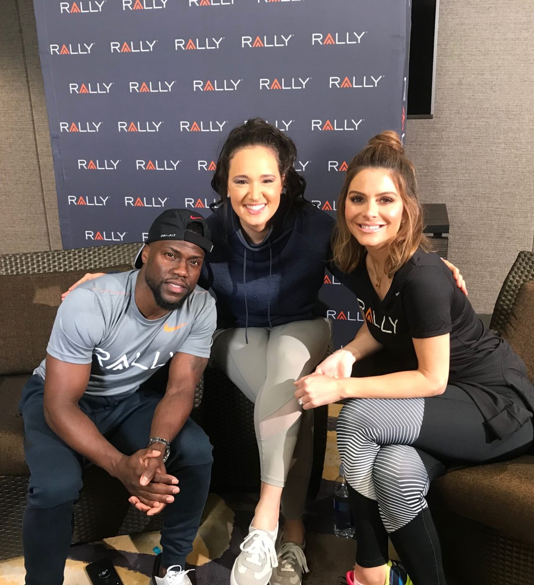 My Interview with Kevin Hart and Maria Menounos