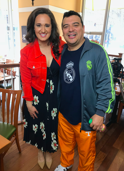 My Interview With Carlos Mencia!