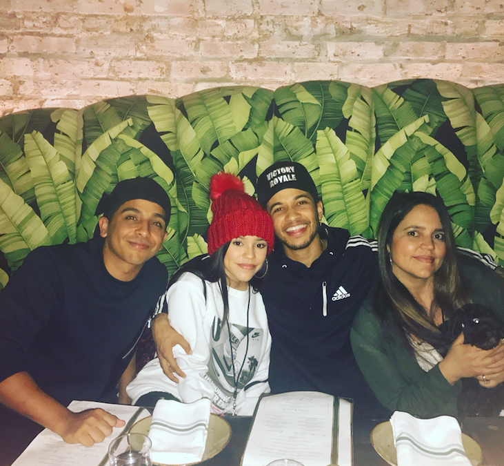 Celebrity Sighting: Hamilton's Jordan Fisher at Ronero