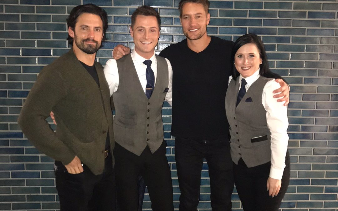 Celebrity Sighting: 'This Is Us' stars Justin Hartley and Milo Ventimiglia in Chicago