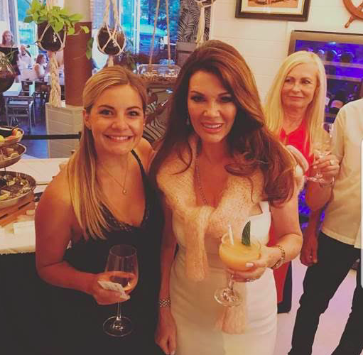 Celebrity Sighting: Lisa Vanderpump at Hampton Social Chicago