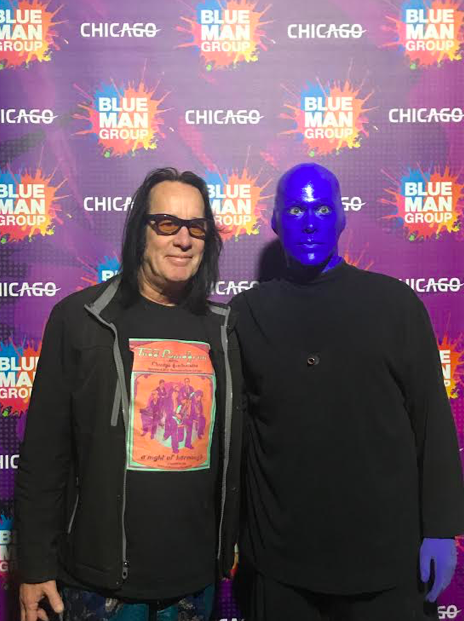 Celebrity Sighting: Singer-songwriter Todd Rundgren