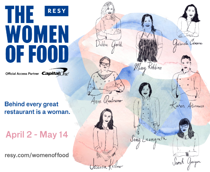 "Resy Presents: ""Women in Food"" 2019"