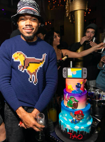 Celebrity Sighting: Chance the Rapper Celebrates Birthday at TAO Chicago