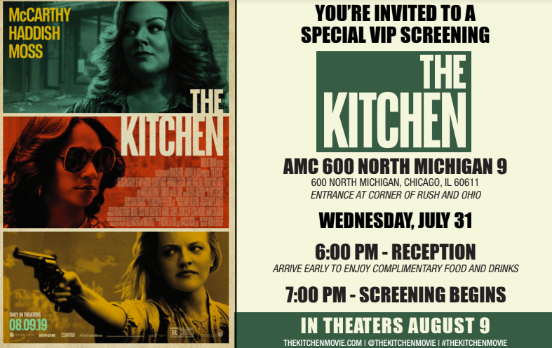 Join Me For a Special Screening of THE KITCHEN