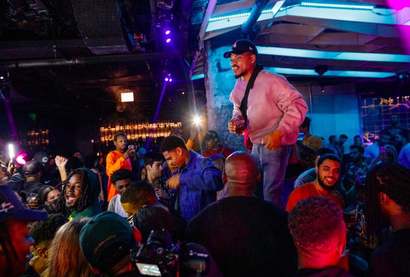 Chance the Rapper Celebrates Album Release at The Underground