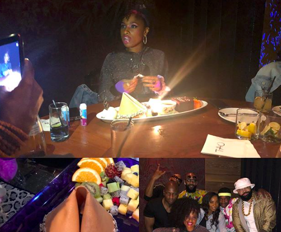 Jennifer Hudson Celebrates Her Birthday at TAO Chicago