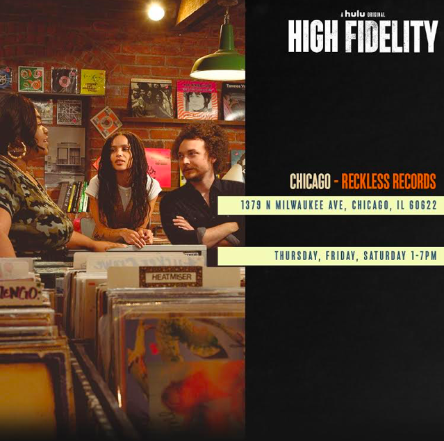 Visit the HIGH FIDELITY Pop-Up This Weekend!