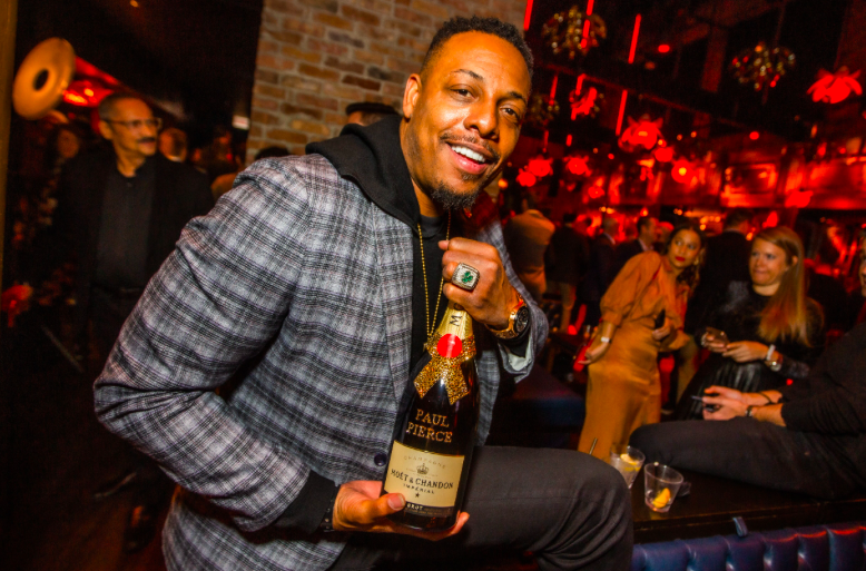Celebs and Athletes at TAO Chicago for NBA All-Star Weekend