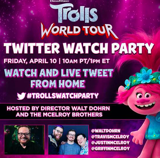 TROLLS WORLD TOUR is Available at Home on Demand This Friday!