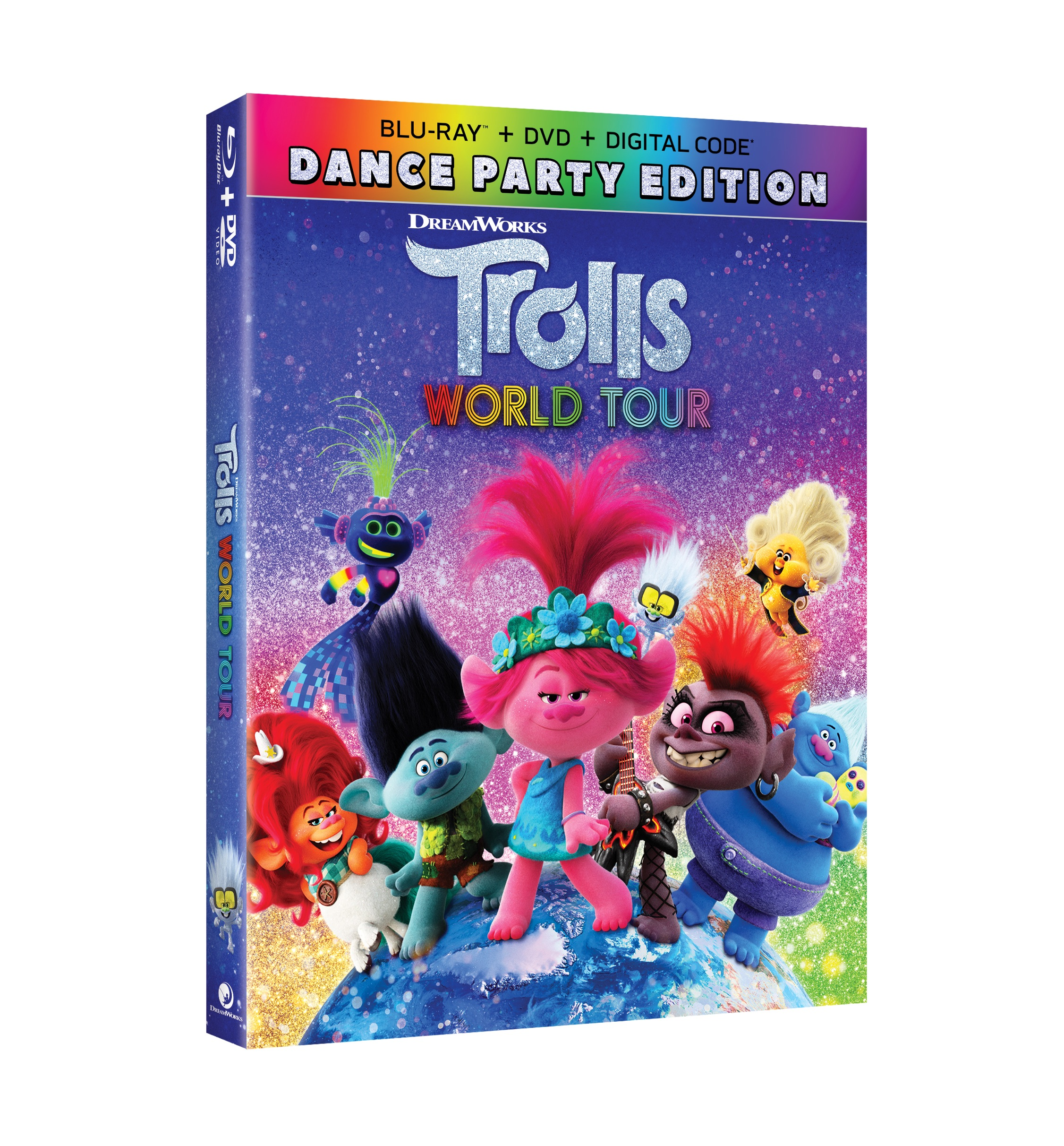 Win TROLLS WORLD TOUR on Blu-Ray